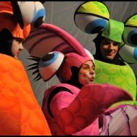 Peça teatral infantil Tilapita e o Rio Feliz  em Campinas, Hortlándia, Sumaré - 2012/2013