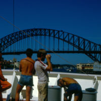 MS Bold Eagle (20.12.1985 - 06.04.1986) - Sydney, Australien