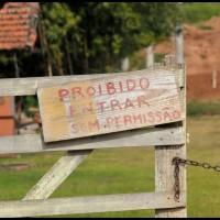 na estrada ao lado da ferrovia Campinas - Jaguariúna /  na Estação Tanquinho