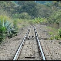 passeio na estrada: estação da ferrovia Campinas - Jaguariúna  / Cia. Mogiana de Estradas de Ferro (1926-1971)