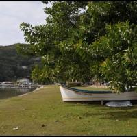 Lagoa da Conceição e dunas em Florianópolis, Santa Catarina