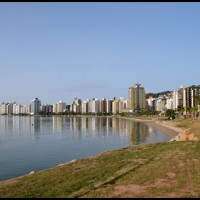 beira mar norte, Florianópolis, Santa Catarina
