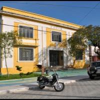 fórum no centro histórico, São Sebastião, litoral norte de São Paulo