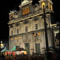 Catedral Basilica de Salvador, Pelourinho, Salvador, Bahia, a noite