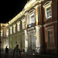 Faculdade de Medicina da Bahia, Pelourinho, Salvador, Bahia, a noite