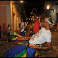 Pelourinho, Salvador, Bahia, a noite
