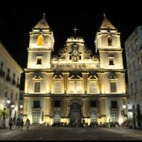 Igreja e Convento de São Francisco, Pelourinho, Salvador, Bahia, a noite