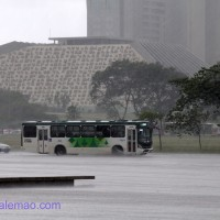 chuva no Planalto, Brasília