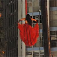 Virada Cultural Paulista 2013, São Paulo - Palco Burlesco em frente do prédio Copan