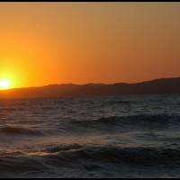 nascer do sol em Búzios (RJ)