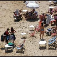 na praia em Búzios (RJ)