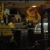 numa padaria em Curitiba
