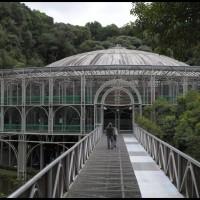a Ópera de Arame no Parque das Pedreiras em Curitiba