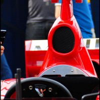 Ferrari de Barrichello em Interlagos, São Paulo