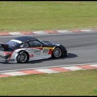 Porsche perdendo o pneu - 500 km de Interlagos, São Paulo 2
