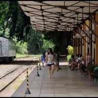 Campinas: Maria Fumaça, estação Anhumas