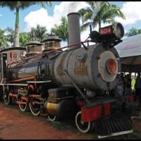 Campinas: Maria Fumaça ... na estação em Jaguariúna