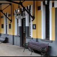Campinas: Maria Fumaça ... chegando na estação Carlos Gomes