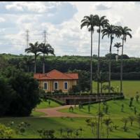 Campinas: Maria Fumaça ... fazenda no caminho da estação Tanquinho para Campinas