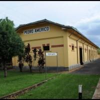 Campinas: Maria Fumaça ... estação Pedro Américo