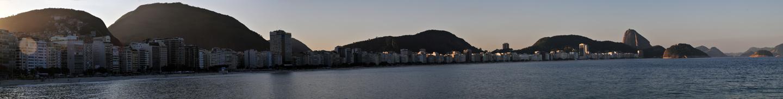 Copacabana (28.07.2011) -  54 Mpx - 290x37cm