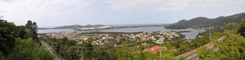 panorama Lagoa da Conceição, Florianópolis, Santa Catarina (25 Megapixel) 143 cm x 35 cm