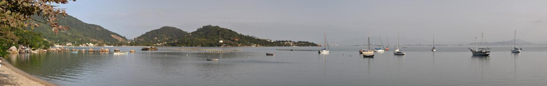 panoramica Santo Antônio de Lisboa, Florianópolis, Santa Catarina (30 Megapixel) 241cm x 38 cm