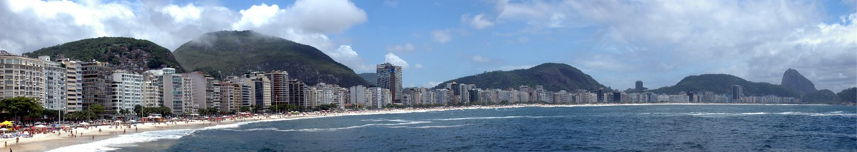 panorama Copacabana, Rio de Janeiro