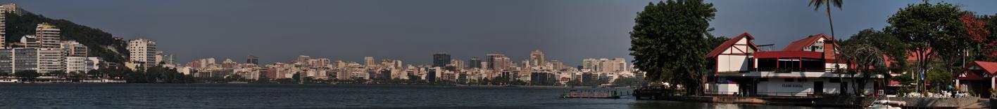 Lagoa, Rio de Janeiro (28.07.2011) 60 Megapixel - 330x36 cm