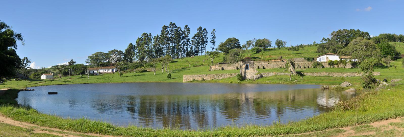ruina de uma fazenda perto de Campinas