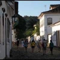 rua no centro histórico, Paraty, Rio de Janeiro