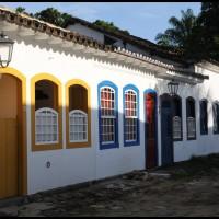 janelas no centro histórico, Paraty, Rio de Janeiro