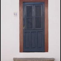 porta no centro histórico, Paraty, Rio de Janeiro