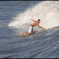 surfista em Santos