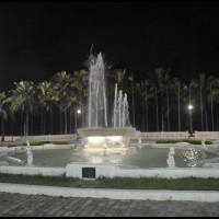 Santos a noite