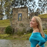 Cellen, Rio Jaguari e ruina da fazenda