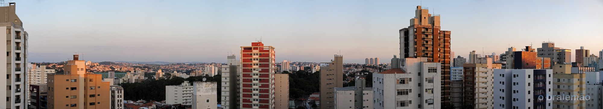 panorâmica do centro, Campinas